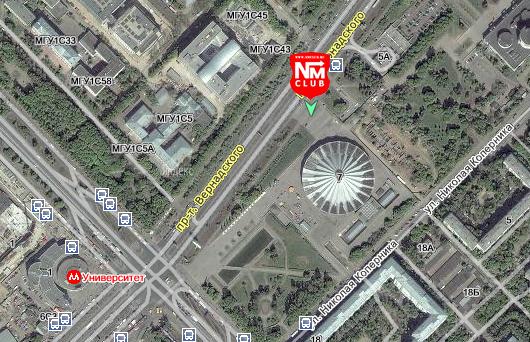 До...  Возможно будет пополнен (Следим за обновлениями).  Западная парковка Цирка на проспекте Вернадского.